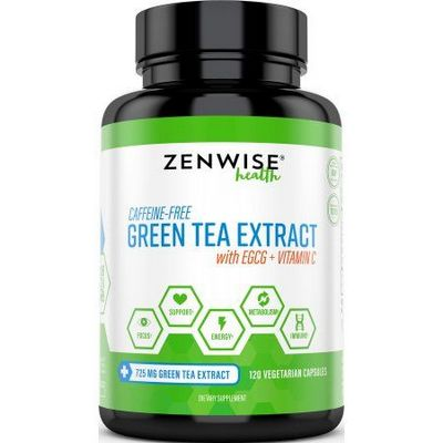 Zenwise Health Green Tea Extract + EGCG, Weight Loss ...